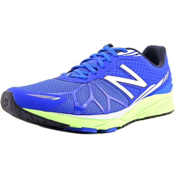 New Balance MPACE Men Round Toe Synthetic Blue Sneakers