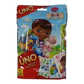 Disney Doc McStuffins Kids Uno Card Game in Foil Bag