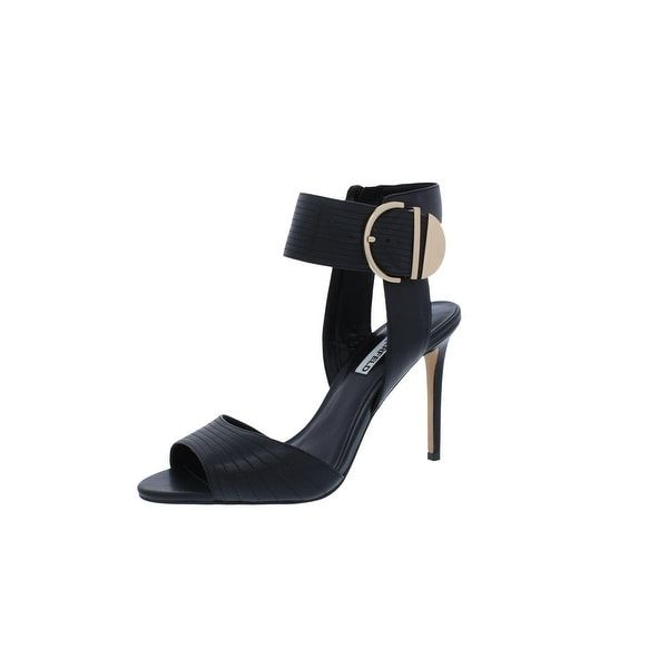 Karl Lagerfeld Paris Womens Lyra Pumps Open Toe Ankle