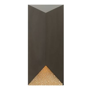 """Hinkley Lighting 2185 18"""" Height 1 Light Dark Sky Outdoor Wall Sconce from the Vento Collection"""