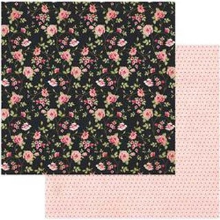 """Allure - Vintage Girl Double-Sided Cardstock 12""""X12"""""""