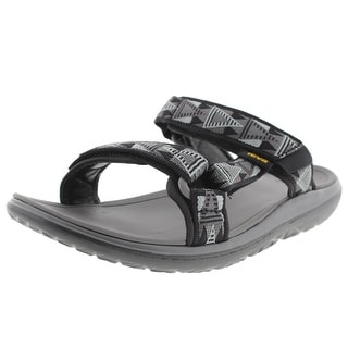 Teva Mens Printed Flat Slide Sandals