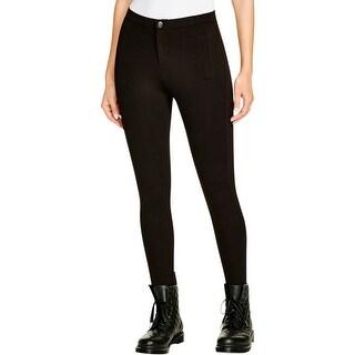 Aqua Womens Leggings Stretch Casual - M