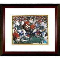 Earl Campbell signed Texas Longhorns 8x10 Photo Custom Framed Heisman