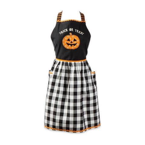 DII Halloween Trick Or Treat Apron, One Size