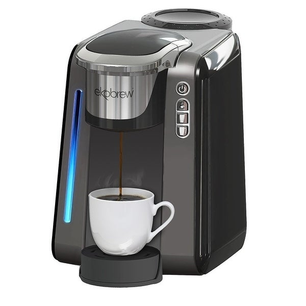 Shop Single Cup Coffee Maker For K Cups By Ekobrew Reusable Single