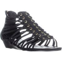 Steve Madden Kagie Gladiator Sandals, Black - 9.5 us
