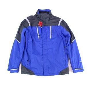Weatherproof Blue Mens Size Small S Full-Zip Windbreaker Jacket