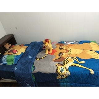 Disney Lion Guard All For One Twin 5-piece Bed in a Bag Set