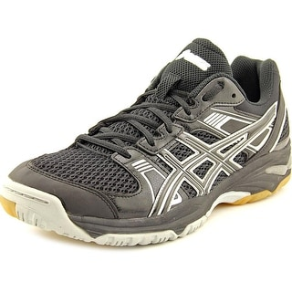 Asics GEL-1140V Volleyball Women Round Toe Synthetic Black Tennis Shoe