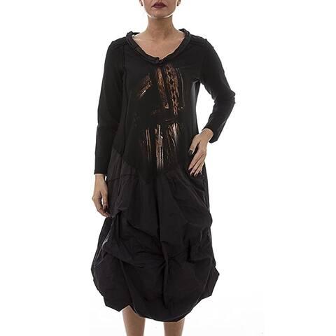 LA MOUETTE Women's Plus Size Whimsical Dress