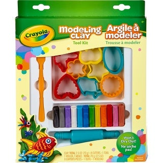 Crayola Modeling Clay Tool Kit-