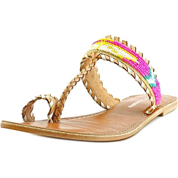 Chinese Laundry i'll call you   Open Toe Leather  Thong Sandal