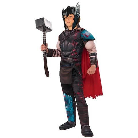 Thor: Ragnarok Gladiator Thor Costume Child - Black
