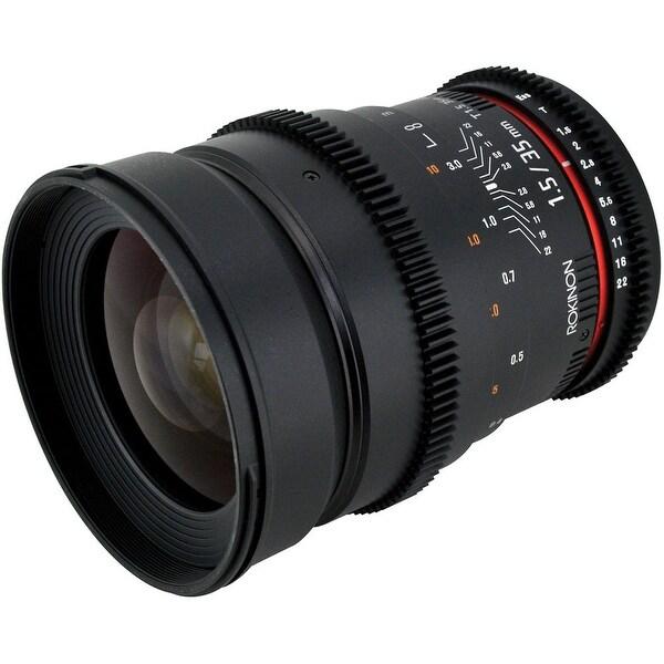 Rokinon 35mm T1.5 Cine AS UMC Lens for Nikon F Mount - Black
