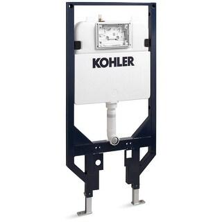 "Kohler K-18829  Veil 2"" x 4"" Dual Flush In-Wall Tank and Carrier System"