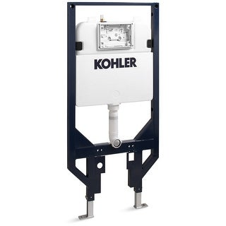 """Kohler K-18829 Veil 2"""" x 4"""" Dual Flush In-Wall Tank and Carrier System - n/a - N/A"""