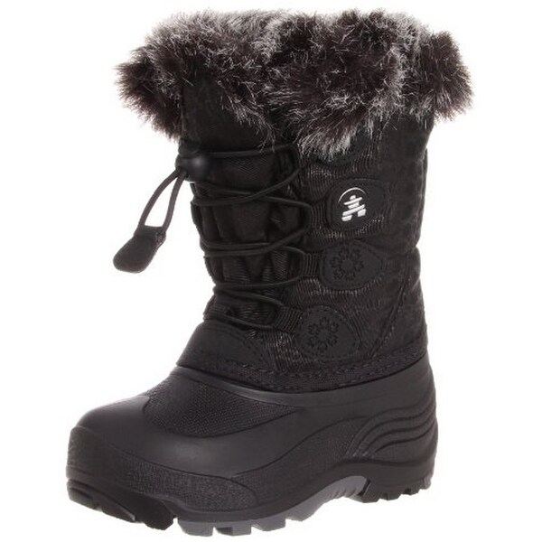 Kamik Unisex Snowgypsy, Black, 5