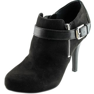 Fergalicious Brianne Women Round Toe Synthetic Black Ankle Boot