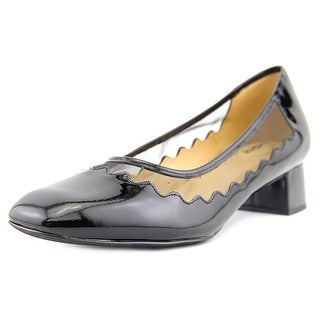 Trotters Lark Women N/S Round Toe Synthetic Black Heels