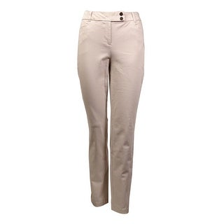 Charter Club Women's Cotton Blend Classic Skinny Pants