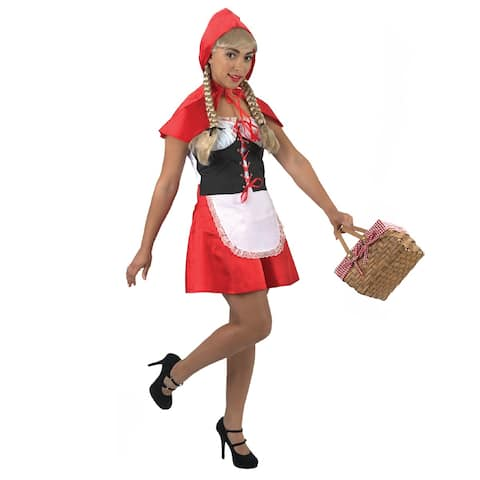 Little Red Riding Hood Halloween Costume- Large
