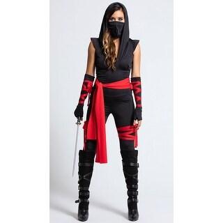 Shop Deadly Ninja Costume Womens Ninja Costume Black