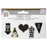 Gold - Create 365 Happy Planner Mini Magnetic Clips 5/Pkg
