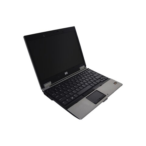 "HP EliteBook 2530p 12.1"" Standard Refurb Laptop - Intel Core 2 Duo 1.86 GHz 4GB SODIMM DDR2 160GB DVD-ROM Win 7 Home 32-Bit"