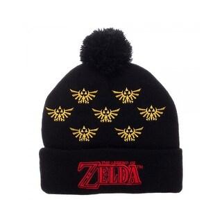Nintendo Zelda Pom Cuff Beanie