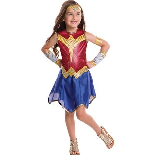 Girls Wonder Woman Movie Halloween Costume