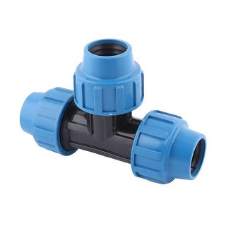 Garden Yard Irrigation Sprinkler Pipe Hose Tee Connector 1 1/4BSP Thread