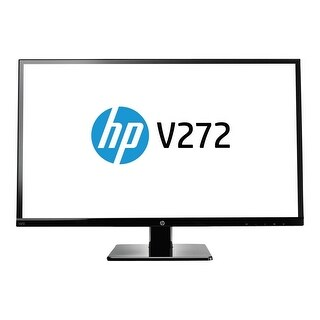 "Refurbished - HP V272 27"" Monitor LED Backlit LCD FHD 7ms 16:9 1920x1080 DVI HDMI VGA"