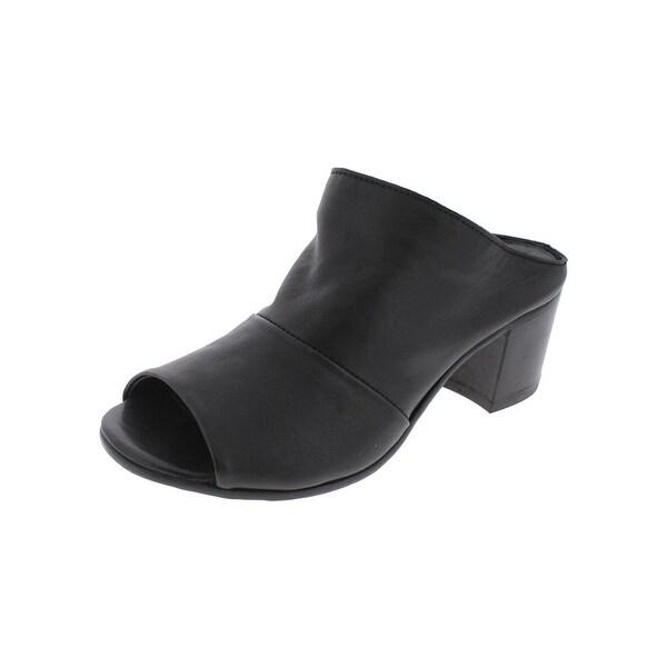 Steven By Steve Madden Womens Roth Dress Sandals Peep Toe Stacked Heel