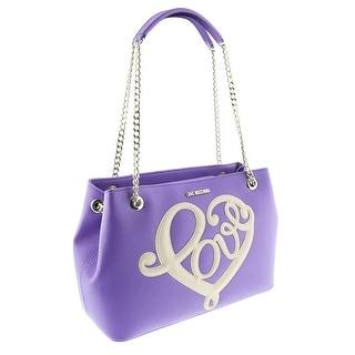 Moschino JC4255 0650 Violet Satchel/Shoulder Bag