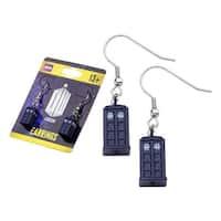 Doctor Who TARDIS Dangle Earrings