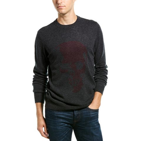 Autumn Cashmere Birdseye Sweater - PEPPER/PRUNE