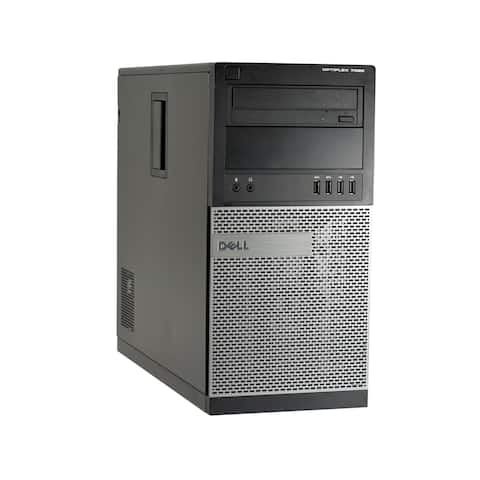 Dell OptiPlex 7020-T Core i7-4770 3.4GHz 4th Gen CPU 8GB RAM 2TB HDD Windows 10 Pro Computer (Refurbished)