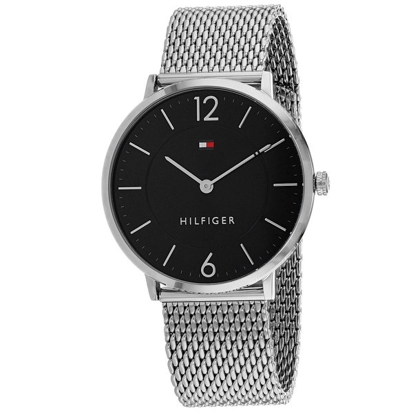 7efc61f83 Shop Tommy Hilfiger Men's Sophisticated sport 1710355 Black Dial Watch -  Free Shipping Today - Overstock - 25437926