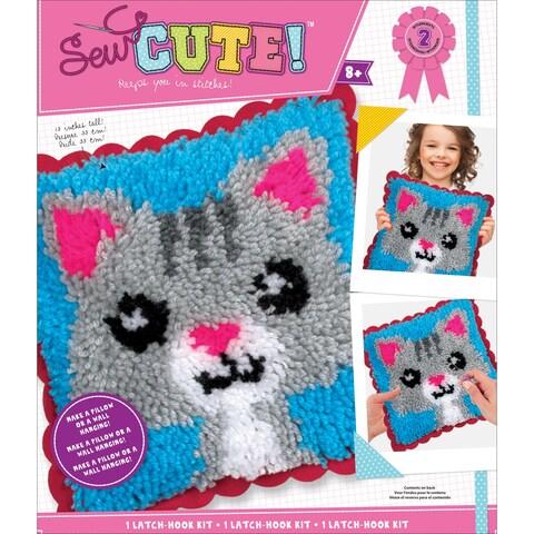 Sew Cute! Latch Hook Kit-Cat