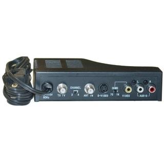 Offex RF Modulator Composite AV RCA/S-Video to Coaxial