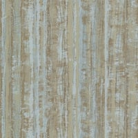 Brewster HZN43084 Radiance Turquoise Stripe Texture Wallpaper - N/A