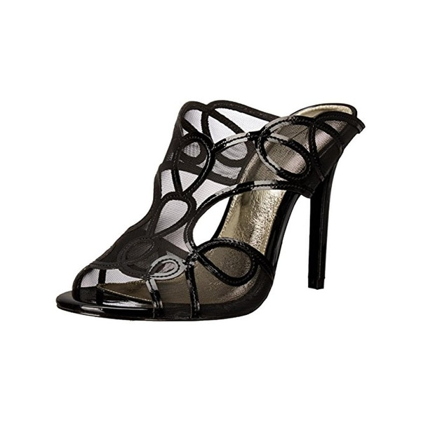 Adrianna Papell Womens Glam Dress Sandals Patent Heels