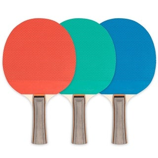 Link to Rubber Face Table Tennis Paddle, 5-Ply, Pack of 6 Similar Items in Games & Puzzles
