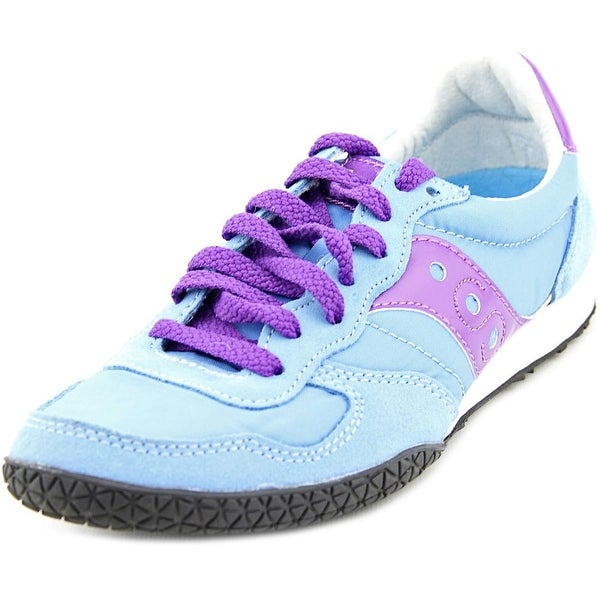 Saucony Bullet Women Round Toe Synthetic Blue Sneakers