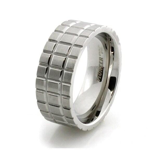 Beveled Stainless Steel Ring