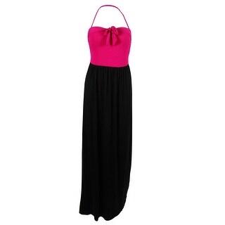 Kenneth Cole Women's Bandeu Maxi Dress Swim Cover Ups