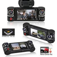 """Indigi 2.7"""" LCD HD Dash CAM ( Motion Activate + Dual Wide Angle Lens + File Protect)"""
