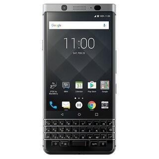 BlackBerry KEYone BBB100-7 64GB Unlocked GSM Dual-SIM Phone w/ 12MP Camera - Black