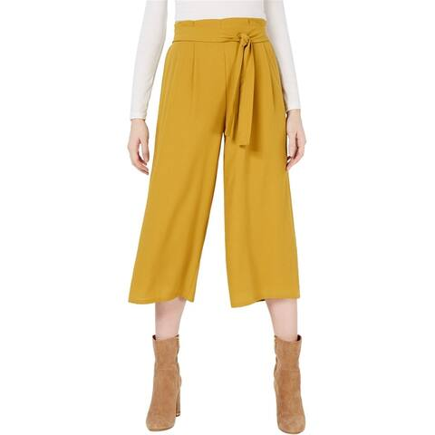 Sage The Label Womens Belted Culotte Dress Pants